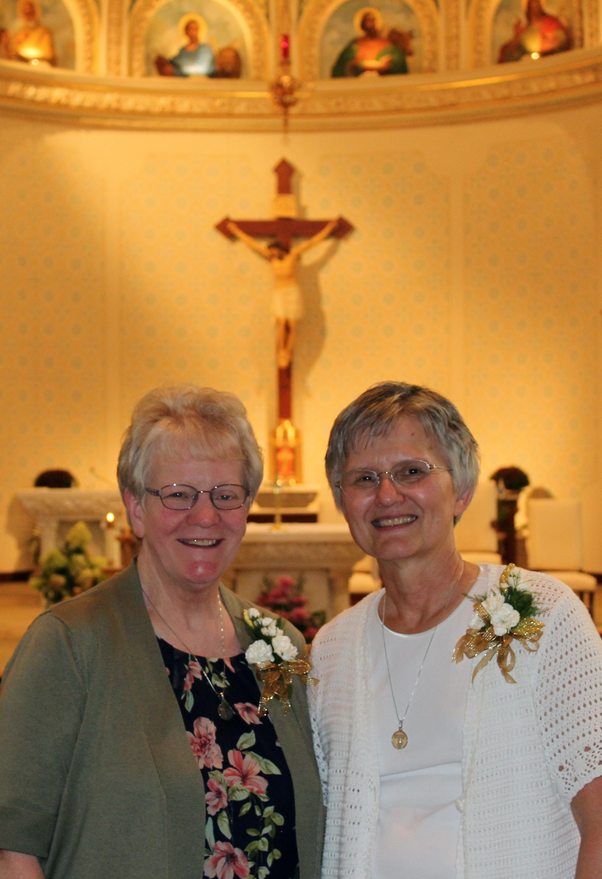 Congrats. Sr. Edna Michel and Sr. Joanne Lammers on your 50th Jubilee!